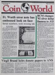 Coin World [11/06/1991]