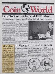 Coin World [01/27/1992]