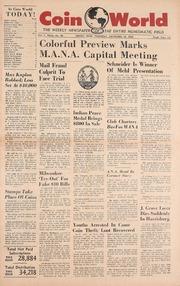 Coin World [11/10/1960]