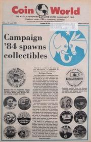 Coin World [10/24/1984] (pg. 32)