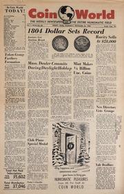 Coin World [12/22/1960]