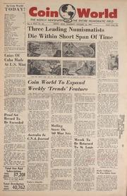 Coin World [01/12/1961]