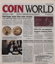 Coin World [11/21/2005]