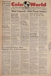 Coin World [05/19/1960]