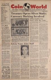 Coin World [11/03/1961]