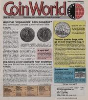 Coin World [07/30/2001]