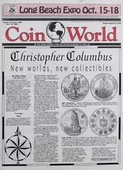 Coin World [10/12/1992] (pg. 3)