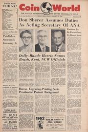 Coin World [01/19/1962]