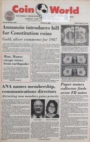 Coin World [10/09/1985]