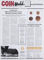 Coin World [03/14/1994]