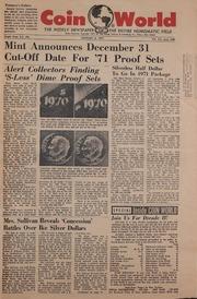 Coin World [01/06/1971]