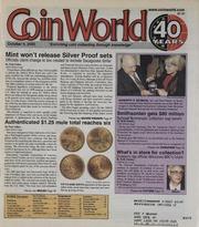 Coin World [10/09/2000]
