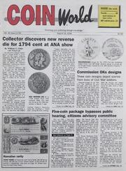 Coin World [08/15/1994]