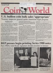 Coin World [12/14/1988]