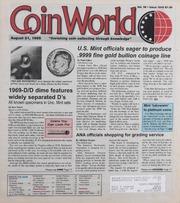 Coin World [08/21/1995]
