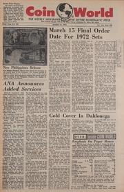 Coin World [03/15/1972] (pg. 65)