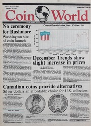 Coin World [01/16/1991]