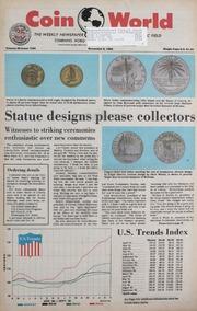 Coin World [11/06/1985]