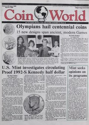 Coin World [04/06/1992] (pg. 33)