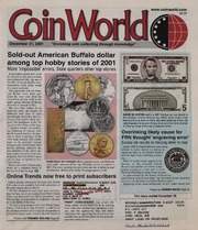 Coin World [12/31/2001]