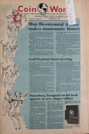 Coin World [12/22/1976] (pg. 27)