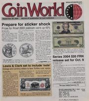 Coin World [09/29/2003]