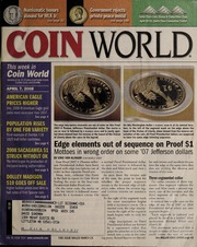 Coin World [04/07/2008]