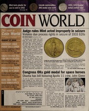Coin World [08/17/2009] (pg. 21)