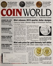 Coin World [08/18/2014]