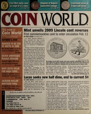 Coin World [10/06/2008] (pg. 51)