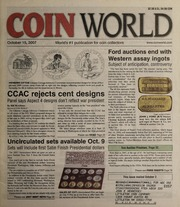 Coin World [10/15/2007] (pg. 79)