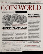 Coin World [12/19/2016]
