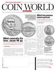 Coin World [10/26/2020]