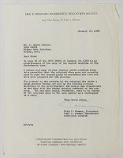 Coin World Correspondence, 1962-1969