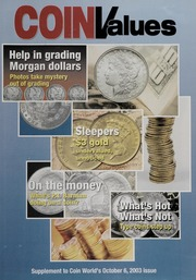 Coin World's Coin Values: Supplement to the October 6, 2003