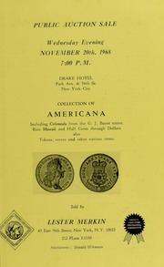 Collection of Americana Including Colonials from the G. J. Bauer Estate