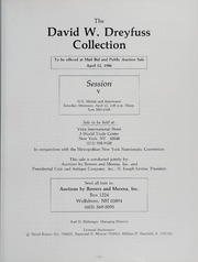The Collection of David W. Dreyfuss