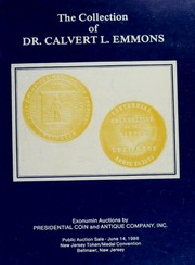 Collection of Dr. Calvert L. Emmons