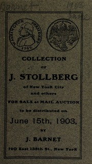 Collection of J. Stollberg of New York city and others ... [06/15/1903]