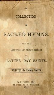 Sacred Hymns (Nauvoo Hymnal) (1841)