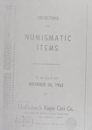 Collections of Numismatic Items