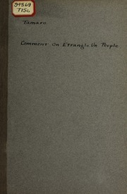 Comment on étrangle un peuple; les conditions dexistence des Italiens, sujets de lAutriche-Hongrie, dans la Vénétie Julienne et dans la Dalmatie