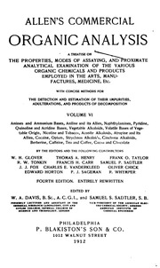 an analysis of the henry allens ranch Volume 2 of allen's commercial organic analysis: a treatise on the properties, modes of assaying, and proximate analytical examination of the various organic chemicals and products employed.