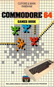 Commodore 64 : games book : Ramshaw, Clifford : Free