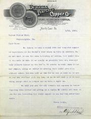 Company wants to make Columbian medal (1-12-1893)