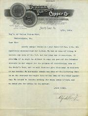Company wants to make Columbian medal (1-16-1893)