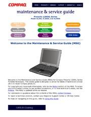 laptop service manuals compaq free texts free download borrow rh archive org Compaq Presario Desktop service manual for compaq presario cq42