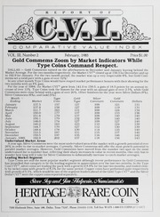 The Comparative Value Index: February 1985