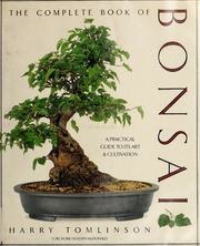 The Complete Book Of Bonsai Tomlinson Harry Free Download Borrow And Streaming Internet Archive