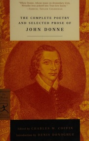 Download The Complete Poetry And Selected Prose By John Donne
